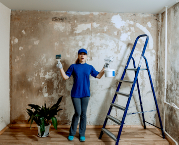 Get Ready for an Interior Paint Job with These Three Steps | D&D Painting