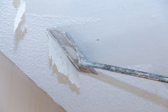 Is It Complicated to Remove Popcorn Ceiling? | D & D Painting