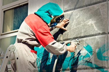 Options for Removing Graffiti from Your Business | D&D Painting