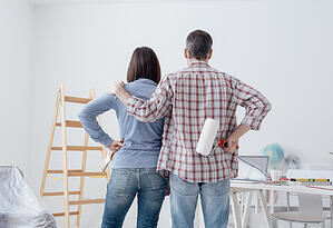 Painting Your Home In Winter Determining Dry Time- | D and D Painting