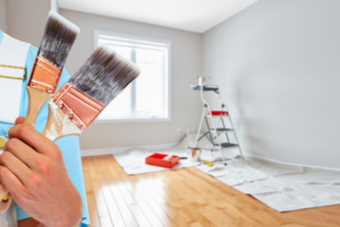 Prep for an Interior Paint Job with These Four Steps | D & D Painting