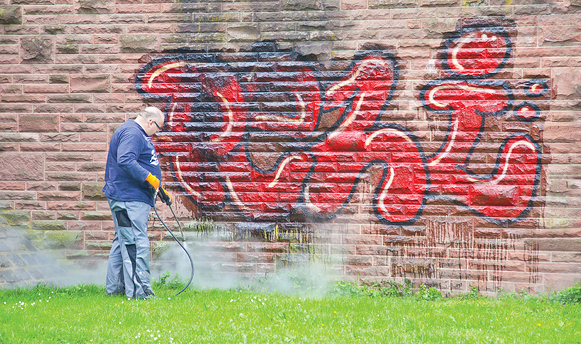 Graffiti Removal | D & D Painting - Fremont