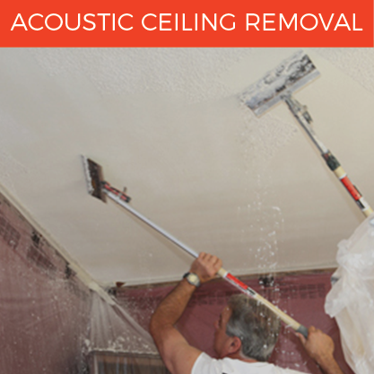 Popcorn Ceiling Removal | D & D Painting - Northern California